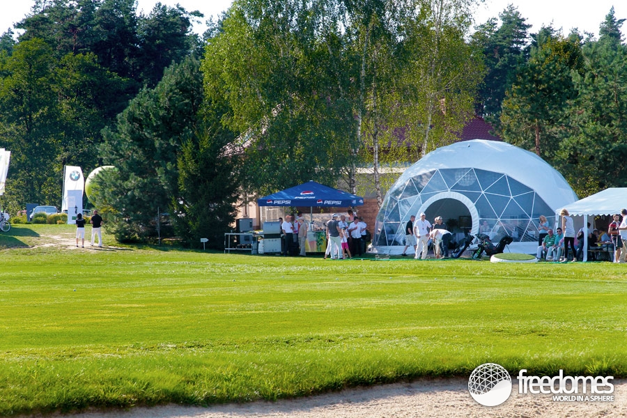 ... image Contemporary tents Dome Marquee Dome structures Event Dome Tent Freedom Tents ... & Dome Tents at the Podkarpacki Golf Club