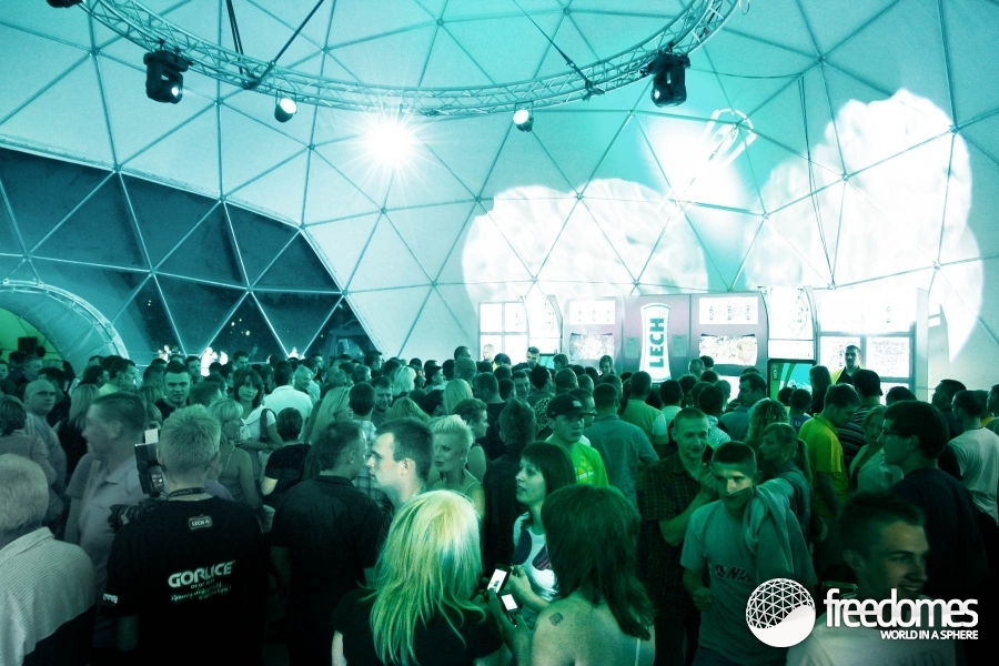... image Air-conditioning Event Dome Event Dome Tent Event Dome Tents ...  sc 1 st  Freedomes.com & Dome marquees at the LECH MEGAparty in Gorlice