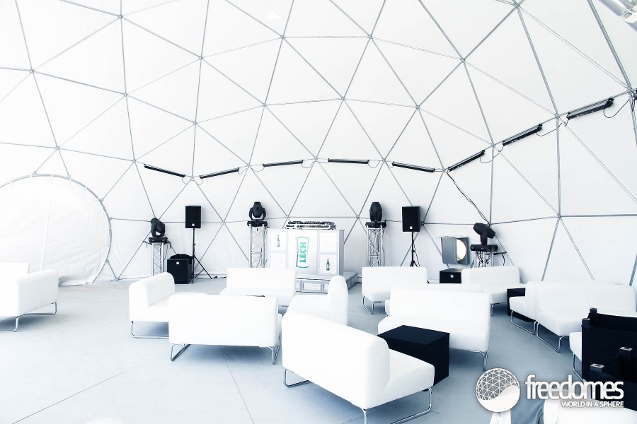 ... image Air-conditioning Contemporary tents Floor Geodesic Dome Tent Gorlice ... & Dome marquees at the LECH MEGAparty in Gorlice